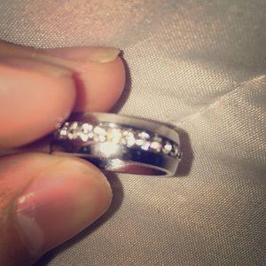 Real diamond ring